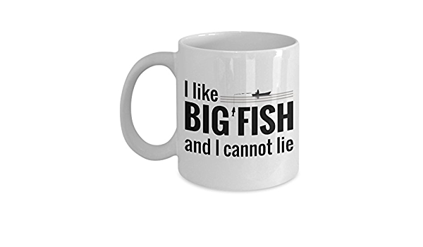Funny MUG ideal for GIFT coffee cup tea fish rod float vein I LOVE FISHING