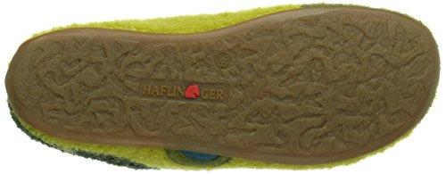 Haflinger Everest Tango Damen Pantoffeln Grün (schilf / 40)
