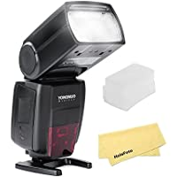 YONGNUO YN686EX-RT Lithium Battery Speedlite 1/8000s TTL/M/MULTI 2.4G Wireless Falsh For Canon w/ HolaFoto Cloth and White Diffuser