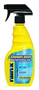Amazon Com Rain X 630023 Shower Door Water Repellent 16