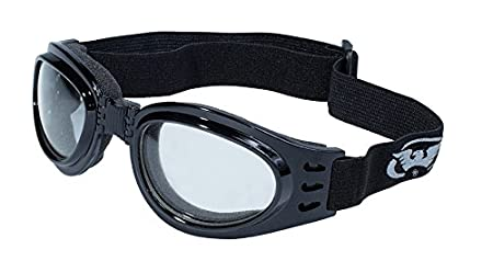 Global Vision Eyewear Mens Adventure Goggles with Pouch