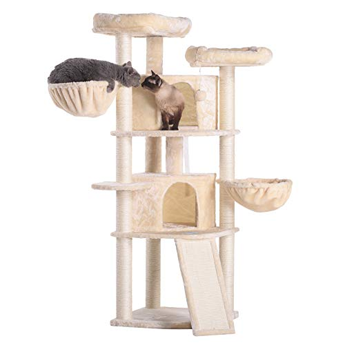 Hey-bro Extra Large Multi-Level Cat Tree Review