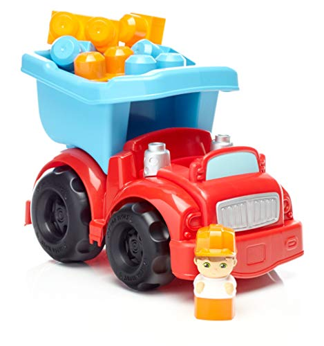 Mega Bloks First Builders Dump Truck Building Set