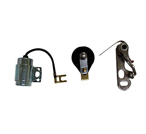 Delco Tune - R1932 - Tractor Distributor Tune Up Kit for Delco Distributors with Clip On Style Cap
