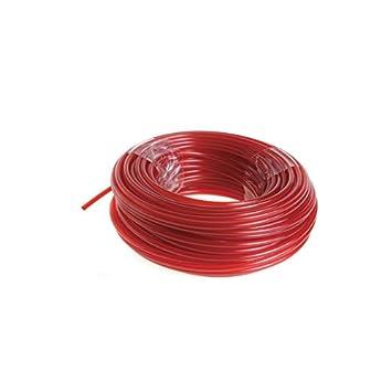 Ryobi RAC104 RAC104-Hilo de corte (2,4 mm, 15 m) color rojo ...