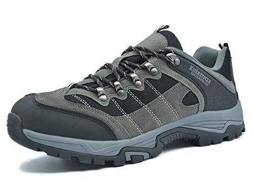 Knixmax-Zapatillas de Trekking para Mujer,Zapatillas de Senderismo Calzado de Montaña Escalada Outdoor Zapatos Exterior Suela Antideslizante Impermeable ...