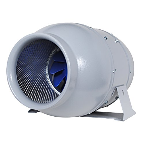 "(Inline Duct Fan ""Silent Series"" 8 Inch, 473 CFM, 111W, Ultra Quiet Sound lnsulated HVAC Vent and Grow Room Exhaust Blower with Speed Controller and Autopilot, 36 dBA, 19.62 Lb)"