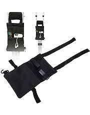 Storage pocket for crutches, Folding for the Elderly Crutch Case Pocket Forearm Broken Leg Accessories Crutch Storage Box Ergonomic Crutch Accessory