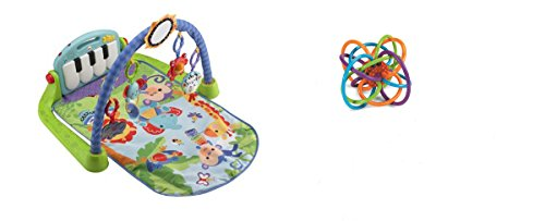 [Baby Sit-Me-Up Floor Seat & Rattle and Rock Maracas Musical Toy for Kids, 2 Pack] (Diy Elephant Halloween Costume)