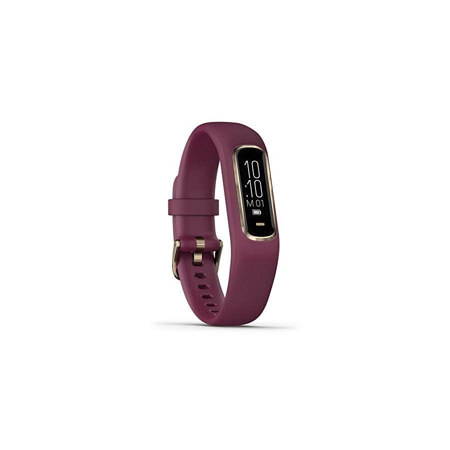 Garmin vívosmart 4, Activity and Fitness Tracker w/Pulse Ox and Heart Rate Monitor