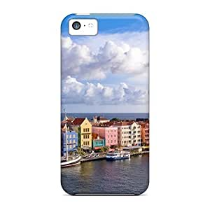 Anti-scratch And Shatterproof Curacao From Above Phone Case For Iphone 5/5s/ High Quality Tpu Case