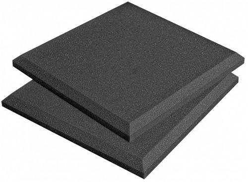 Auralex Acoustics SonoFlat Acoustic Absorption Foam 2 x 12 x 12 14-Panels Charcoal [並行輸入品] B078LQ3C7Y