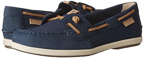 Navy Top Shoes Ivy Coil Sperry sider Emboss Womens Scale SqRq8wd