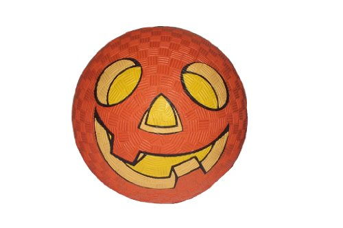 Halloween Jack-O-Lantern Pumpkin Mini Bouncing Ball, 4.5 Inch (Halloween Toys for Toddlers Kids) -