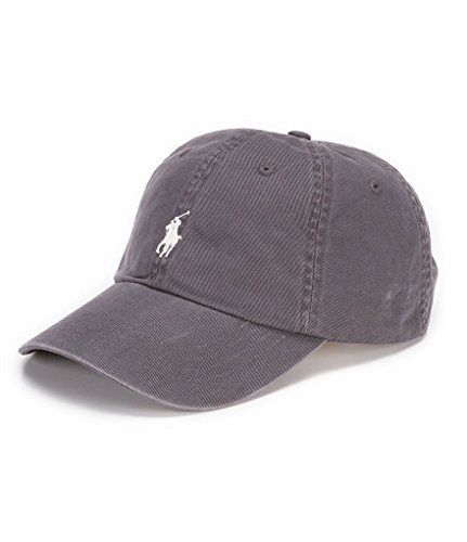 Polo Caps Baseball Hat - Men's Classic Baseball Cap (One Size, Combat Grey(3014)/White)
