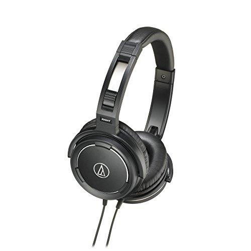 Price comparison product image Audio Technica AUD ATHWS55BK Solid Bass Audio Headphones