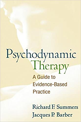 psychodynamic therapy a guide to evidence based practice