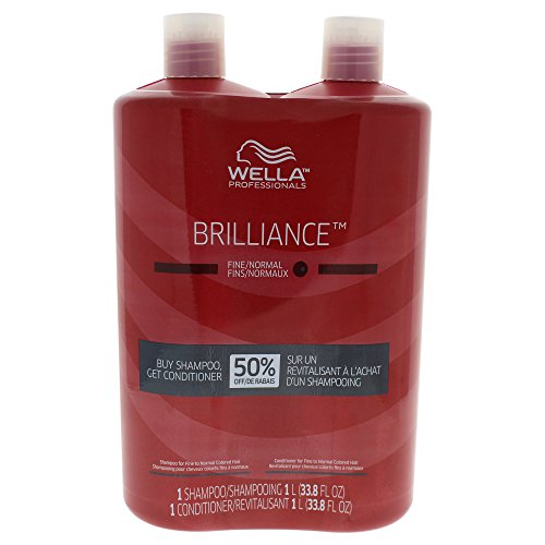 Wella Elements Brilliance Shampoo And Conditioner Duo For Fine Hair