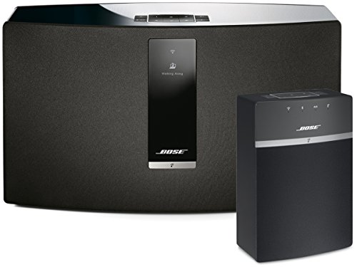 Bose SoundTouch 30 and 10 Wireless Music System Bundle 2-Pack Black