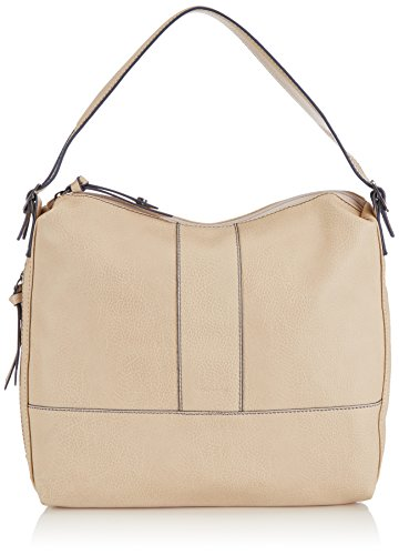 Tamaris Phillys Hobo Bag - Shoulder Bag Ivory Faux Fur Woman - Elfenbein (ivory)