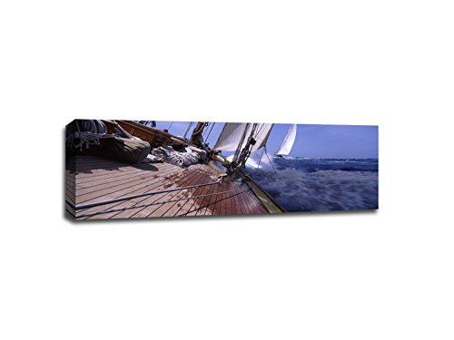 Sailboats Antigua & Barbuda - Boats - 48x16 Gallery Wrapped Canvas Wall Art