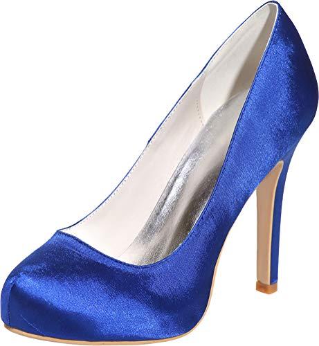 Sandalias De Cfp Satén Mujer Azul wYFq6Aqxd
