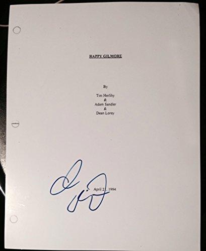 adam sandler signed autograph rare quothappy gilmorequot full