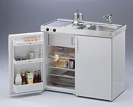 Mini Küche stengel 2000649 miniküche kitchenline mkc 100 ceran links amazon de