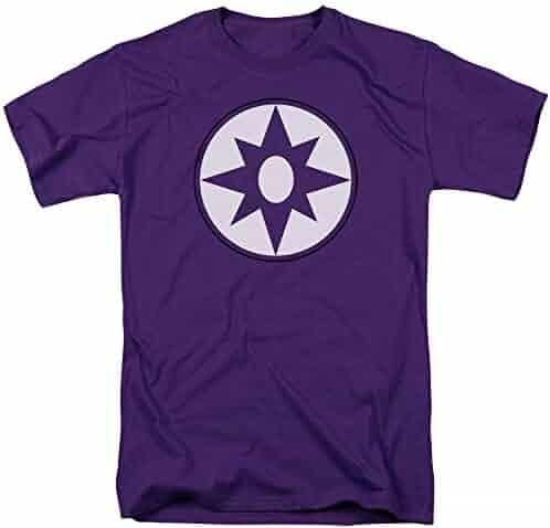 13f499b8a9f3 Green Lantern Violet Lantern Corps Symbol Purple Adult T-Shirt Tee