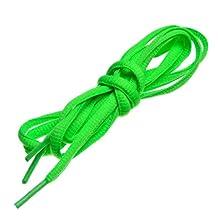 "BIRCH's Oval Shoelaces 27 Colors Half Round 1/4"" Shoe Laces 4 Different Lengths"