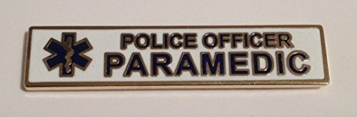 Police Officer Paramedic Uniform Pin