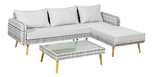 Jet-Line Jardín Ratán Aluminio Diseño Jardín Lounge Grupo la Paz ...