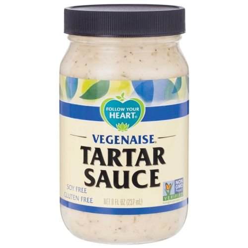 FOLLOW YOUR HEART SAUCE TARTAR, 8 OZ Pack of 6