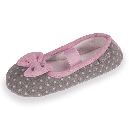 Ballerina-Hausschuhe Mädchen Isotoner 30