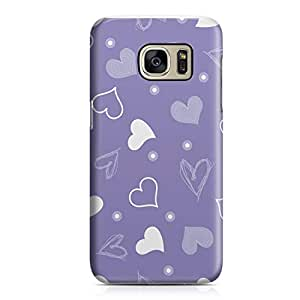Samsung S7 Case Heart Love Pattern Pattern Great For Girls Durable Metal Inforced Light Weight Samsung S7 Cover Wrap Around 119