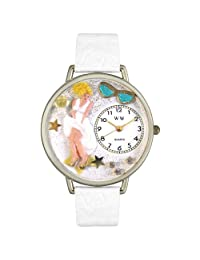 Whimsical Watches Unisex U0420011 Marilyn Monroe White Leather Watch