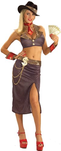 Glamour Gangster Moll Costume -