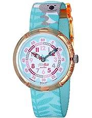 FlikFlak Mädchen Analog Quarz Uhr mit Stoff Armband FBNP109