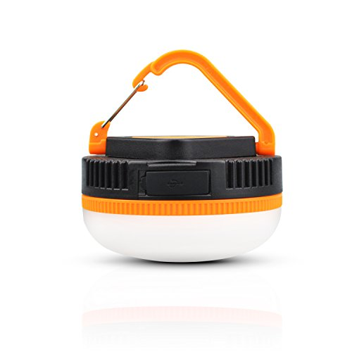LED Camping Lantern 180 Lumens Rechargeable MINI Tent Light&Lamp Emergency Flashlight with Magnet for Hiking,Backpacking,Outdoor,Fishing,Home and Daily Lighting-USB Charging