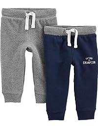 Simple Joys by Carter's Pantalones Deportivos de Punto para bebés y niños pequeños, Paquete de 2