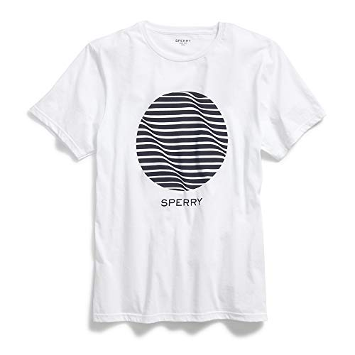 Sperry Top-Sider Circle Wave T-Shirt Men S White
