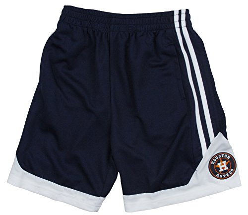 Houston Astros MLB Little Boys and Big Boys Play Dry Shorts – Navy Blue – DiZiSports Store
