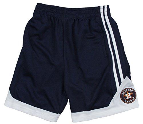Houston Astros MLB Little Boys and Big Boys Play Dry Shorts – Navy Blue – Sports Center Store