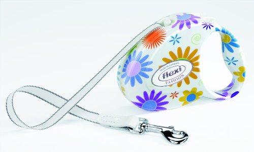 Flexi FAP.206.LON Fashion Ladies Flowers Retractable Leash, Small