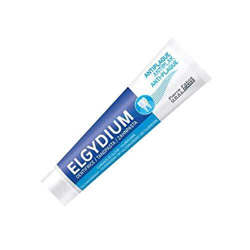 Tres Paquetes De ELGYDIUM Antiplaca Pasta de dientes x 75 ml/100 g: Amazon.es: Salud y cuidado personal