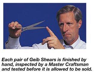 Ed Geib GATOR 10'' Curved Dog Grooming Scissor
