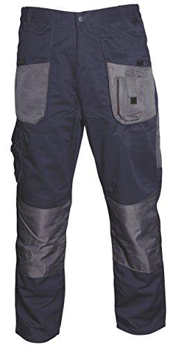 Blackrock 7641432 - Los Hombres De La Longitud De Largo Pierna Workman Plancha - Navy / Grey, 32 Pulgadas