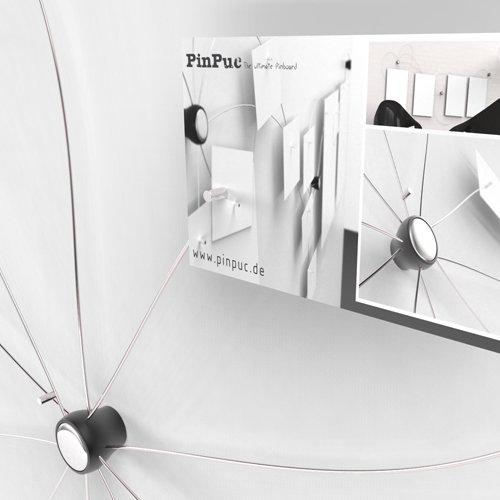 PinPuc - die ultimative design Magnet Pinnwand inkl. 5 ...