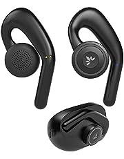 Avantree TW116, open oor Bluetooth 5.0 echt draadloze hoofdtelefoon, oordopjes van 70 uur met oplaaddock, comfortabel voor langdurig gebruik, omringend bewustzijn, verminderde audiovertraging, NIET voor basliefhebbers