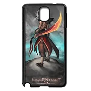 Defense Of The Ancients Dota 2 JUGGERNAUT 010 Samsung Galaxy Note 3 Cell Phone Case Black ASD3842039